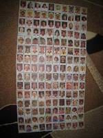 Complete Series Fußball 1980 Americana Kaugummi Bilder 150 St.