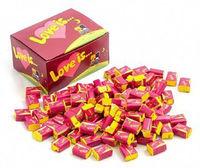 1 Box Bubble gum Love is - Cherry and lemon /вишня и лимон (Turkey) + International sending Registred Paket witch Track Number - very tasty!!!-