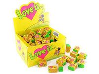 1 Box Bubble gum Love is - coconut and pineapple /кокос и ананас (Turkey) + International sending Registred Paket witch Track Number - very tasty!!!-