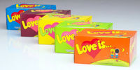 5 Box Bubble gum Love is  (Turkey) + International sending Registred Paket witch Track Number - very tasty!!!-