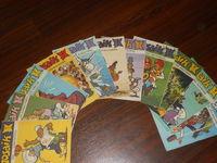 Mosaik Abrafaxe Sammlung - Full series 1984 - 12 st.  - Полный комплект немецких детских комиксов за 1984 год. (Германия!).