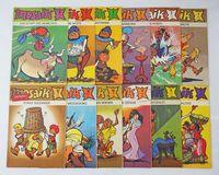 Mosaik Abrafaxe Sammlung - Full series 1985 - 12 st.  - Полный комплект немецких детских комиксов за 1985 год. (Германия!).