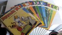 Mosaik Abrafaxe Sammlung - series 1987 - 6st.  - комплект немецких детских комиксов за 1987 год. 6 штук (Германия!).