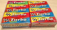 1 box Bubble Gum TURBO SPORT Fast New Rare!      FREE SHIP REGISTRED LETTER (track number)!