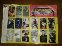 Album Stickers Commando Super Fighters