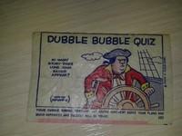 Fleer - Dubble bubble №107