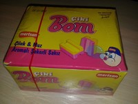 1 box bubble gum CikiBom #1