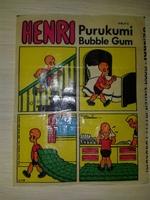 HENRY #9 Jenkki Purukumi Bubble Gum (Финляндия)