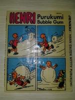 HENRY #11 Jenkki Purukumi Bubble Gum (Финляндия)