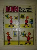 HENRY #10 Jenkki Purukumi Bubble Gum (Финляндия)