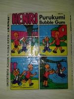HENRY #15 Jenkki Purukumi Bubble Gum (Финляндия)