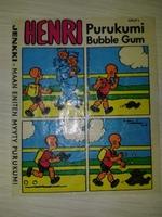 HENRY #17 Jenkki Purukumi Bubble Gum (Финляндия)