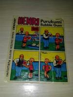 HENRY #2 Jenkki Purukumi Bubble Gum (Финляндия)