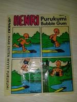 HENRY #6 Jenkki Purukumi Bubble Gum (Финляндия)