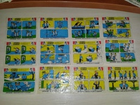 Paukku Parrat Salmiakki Jenkki Bubble gum (с надписью) different 21 шт из 80 существующих