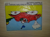 Ballon-Kaugummi Ok Kaugummi Pinneberg-BRD #3