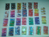 50 different Wrappers bubble gum Neptun (Ukraine)