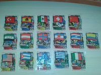 Anglo Flags of the Nations 31 шт