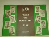 RARITAT!!! FUSSBALL WELT MEISTERSCHAFT 1954 год, фирма Kiddy 117 карточек (Германия)