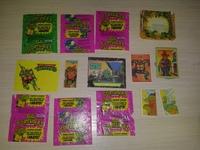 14 wrappers Turtles bubble gum
