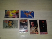6 different stickers Vandamme Dilan