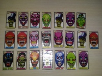 22 different stickers Koley Iskeletor