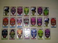 22 different stickers Koley Iskeletor