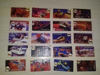 16 different stickers Nacar A.S. James Bond Turkey