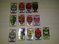 40 different stickers Koley Iskeletor