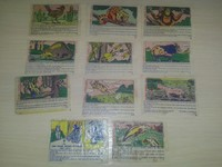 Dubble Bubble Fleer Animals 27 different unit series#2