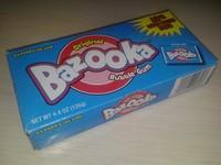 Bazooka bubble gum 126g - 28 bubble gum (Made in Mexiko)