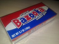 Bazooka bubble gum 105g - 25 bubble gum