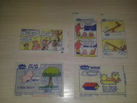 Fleer Funnies 5 unit Rar!!!