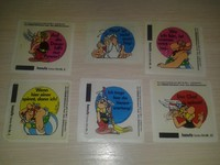 hanuta Asterix 6 different unit (1988)