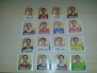 hanuta series Bundesliga 96 different 36 unit
