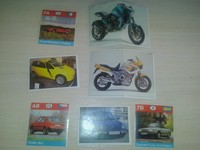 Panini and andere series Auto and moto 26 unit
