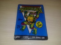 Turtles Teenage Mutant Ninja - 5 cards+1stickers