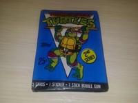Turtles Teenage Mutant Ninja - 5 cards+1stickers