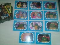 Full series Turtles Teenage Mutant Ninja 88 unit + full series stickers 11 unit