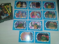Full series Turtles Teenage Mutant Ninja 88 unit + full series stickers 11 unit