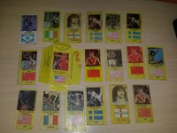 18 cards World sport 91