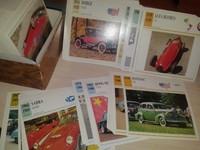 Sammlung Grosse Automobile - 859 st - Огромная коллекция картонок авто с 1899-по современность разных стран и эпох. Германия