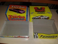 4 empty Box Bubble Gum Turbo different