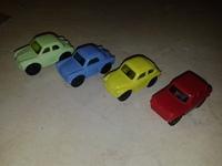 "FULL Series  Kinder Surprise Ferrero ""Папин первый автомобиль"" (Papis erstes Auto + K96n99-K96n102) 1995"